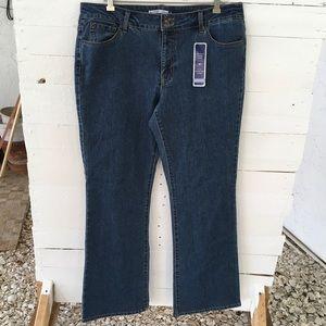 BandolinoBlu Denim Arianna Bootcut Jeans NWr
